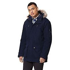 Regatta - Blue 'Salinger' insulated hooded waterproof parka