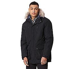 Regatta - Black 'Salinger' insulated hooded waterproof parka