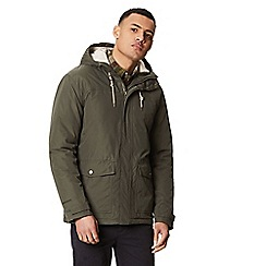 Regatta - Green 'Syrus' insulated hooded waterproof jacket