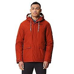 Regatta - Brown 'Syrus' insulated hooded waterproof jacket