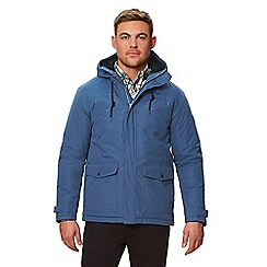 Regatta - Blue 'Syrus' insulated hooded waterproof jacket