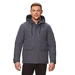 Regatta - Grey 'Syrus' insulated hooded waterproof jacket