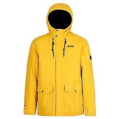 Regatta - Yellow 'Syrus' insulated hooded waterproof jacket