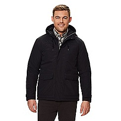 Regatta - Black 'Syrus' insulated hooded waterproof jacket