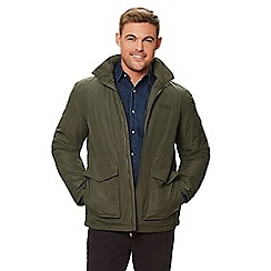 Regatta - Green 'Hebson' insulated hooded waterproof jacket