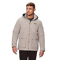 Regatta - Brown 'Hebson' insulated hooded waterproof jacket