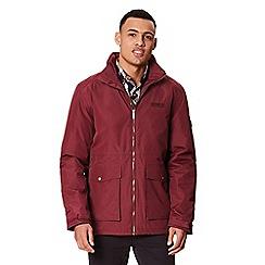 Regatta - Plum 'Hebson' insulated hooded waterproof jacket