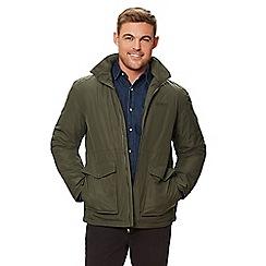 Regatta - Green 'Hebson' insulated hooded waterproof jacket