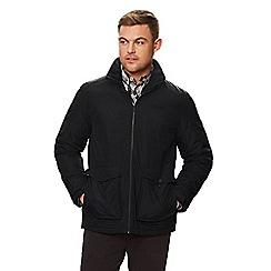 Regatta - Black 'Hebson' insulated hooded waterproof jacket