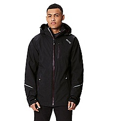 Regatta - Black 'Glyder' 3 in 1 waterproof jacket