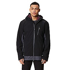 Regatta - Black 'Wentwood' 3 in 1 waterproof jacket