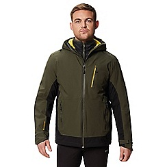 Regatta - Green 'Went wood' 3 in 1 waterproof jacket
