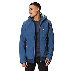 Regatta - Blue 'Wentwood' 3 in 1 waterproof jacket