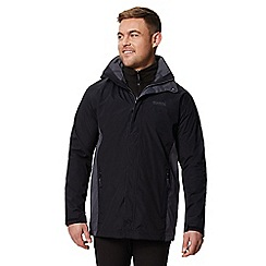 Regatta - Black 'Telmar' 3 in 1 waterproof jacket