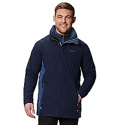 Regatta - Blue 'Telmar' 3 in 1 waterproof jacket