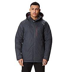 Regatta - Grey 'Highside' insulated hooded waterproof jacket