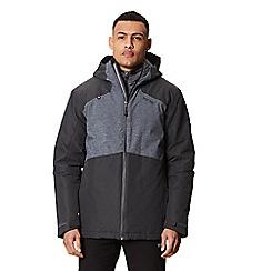 Regatta - Grey 'Garforth' waterproof hooded jacket