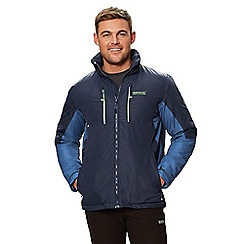 Regatta - Blue 'Fabens' insulated hooded waterproof jacket
