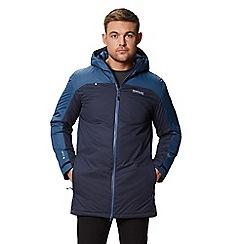 Regatta - Blue 'Largo' insulated hooded waterproof jacket