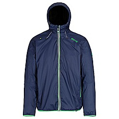 Regatta - Blue 'Tarren' waterproof hooded jacket
