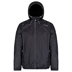 Regatta - Black 'Tarren' waterproof hooded jacket