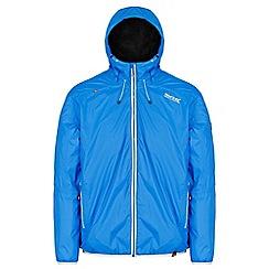 Regatta - Blue 'Tarren' waterproof hooded jacket