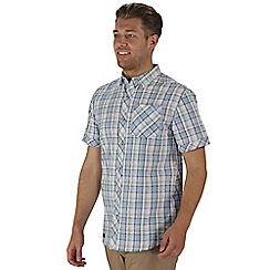 Regatta - Natural deakin short sleeved shirt