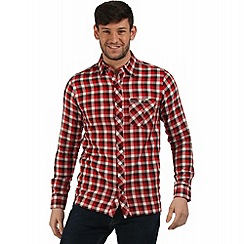 Regatta - Orange Lazka checked shirt
