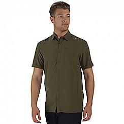 Regatta - Green kioga short sleeved shirt