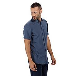 Regatta - Blue 'Kioga' short sleeved shirt