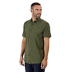 Regatta - Green 'Kioga' shorts sleeved shirt