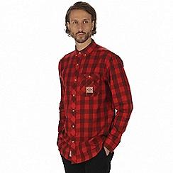Regatta - Red 'Loman' long sleeve shirt