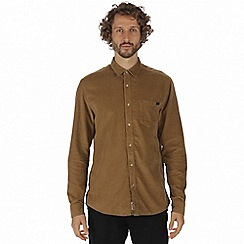Regatta - Brown 'Benton' long sleeve shirt