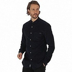 Regatta - Blue 'Benton' long sleeve shirt