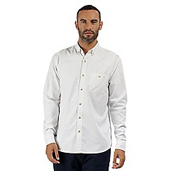 Regatta - White 'Bacchus' long sleeved shirt