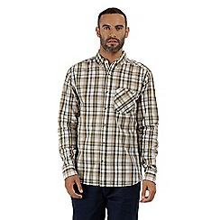 Regatta - Green 'Bacchus' long sleeved shirt