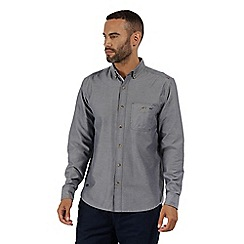 Regatta - Grey 'Bacchus' long sleeved shirt