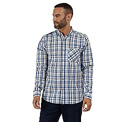 Regatta - Blue 'Bacchus' long sleeved shirt