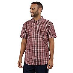 Regatta - Red 'Rainor' short sleeved shirt