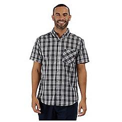 Regatta - Blue 'Ethan' short sleeved shirt