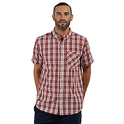 Regatta - Orange 'Ethan' short sleeved shirt