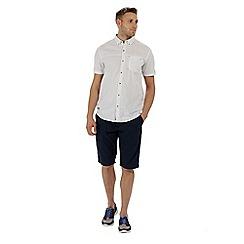 Regatta - White 'Damaro' shorts sleeved shirt