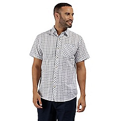 Regatta - White 'Deakin' short sleeved shirt