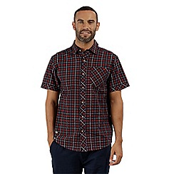 Regatta - Red 'Deakin' short sleeved shirt