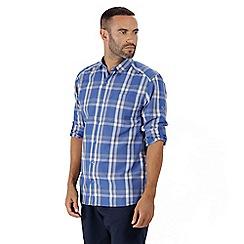 Regatta - Blue 'Mindano' long sleeved shirt