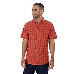 Regatta - Orange 'Honshu' short sleeved shirt