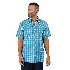 Regatta - Blue 'Honshu' short sleeved shirt
