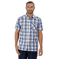 Regatta - Blue 'Kalambo' short sleeved shirt