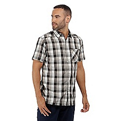 Regatta - Grey 'Kalambo' short sleeved shirt
