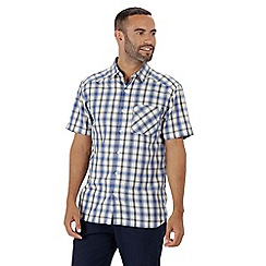 Regatta - Blue 'Mindano' short sleeves shirt